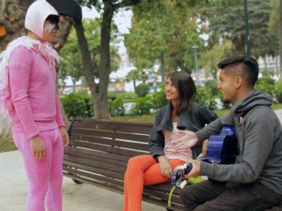 Video participativo Dos flamencos, un destino
