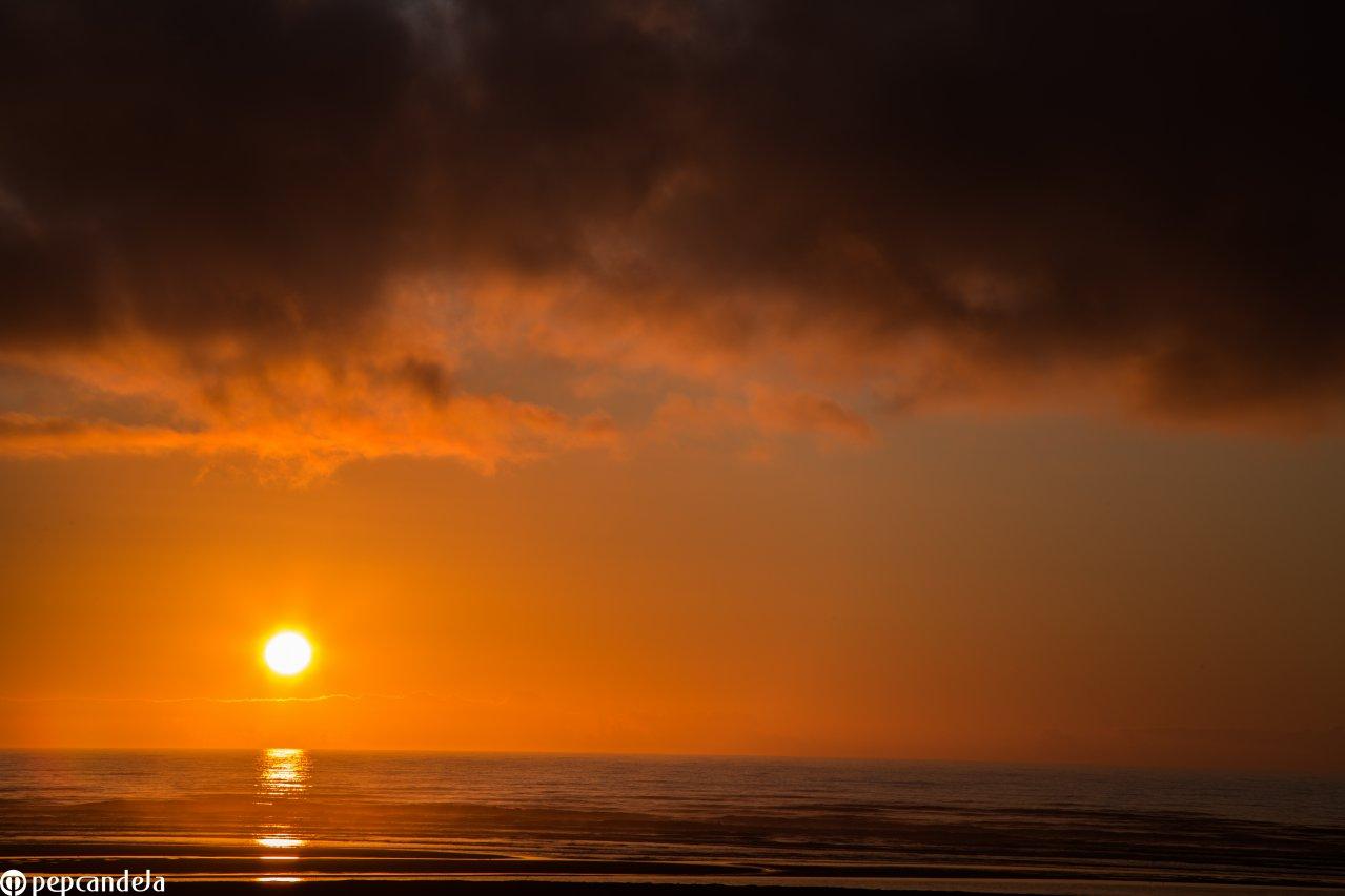 Puesta de sol, Chiloé